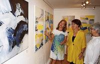 Drei Künstlerinnen, eine Ausstellung