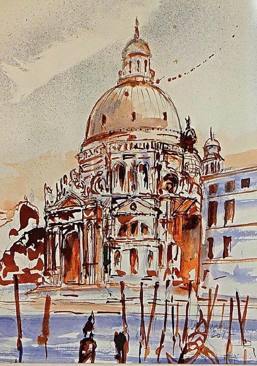 Bilder, in denen die Melancholie  Venedigs mitschwingt.   | Foto: FREY