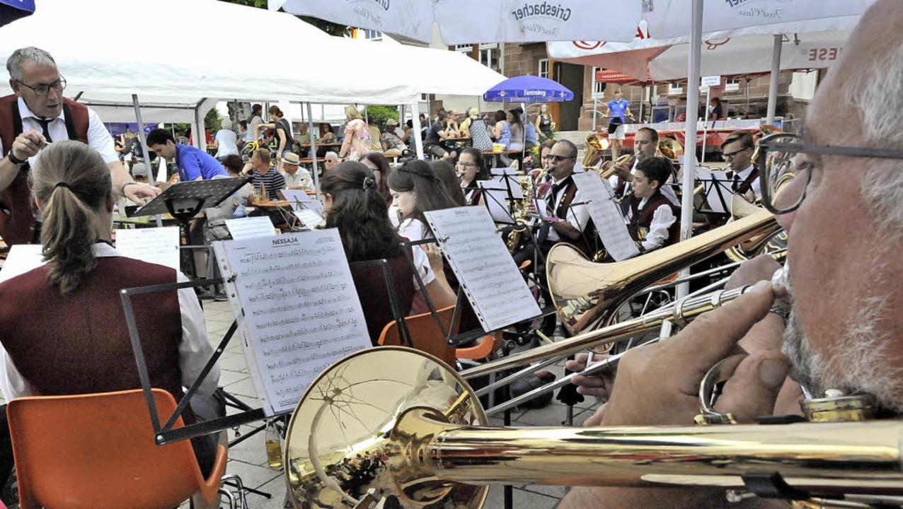 Gastorchestern, wie hier dem Musikvere...den anderweitig alle Hände voll zu tun  | Foto: Markus Zimmermann