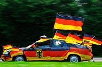 Wie schwarz-rot-gold darf mein Auto während der Fußball-WM sein?