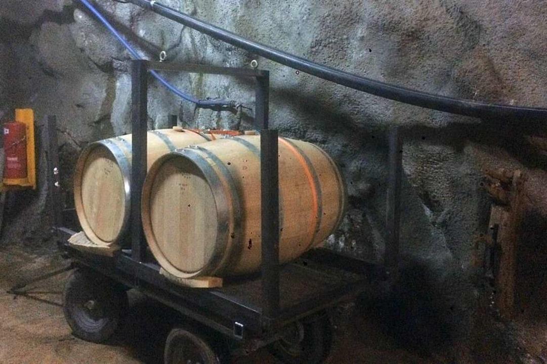 Das Ihringer Weingut Schweizer lagert Wein im Schauinsland-Stollen  | Foto: privat