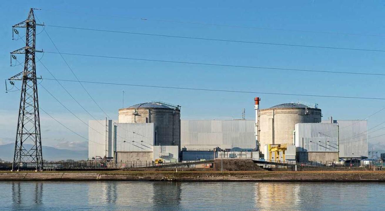 Das Atomkraftwerk Fessenheim  | Foto: dpa