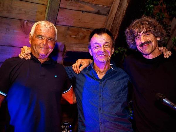 Die Boogie Connection spielte  Blues, Boogie und Rockn`Roll  in Felix Scheune beim Hochschwarzwälder Jazz Sommers.