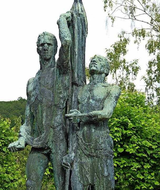 Strübe-Skulptur   | Foto: Ehrentreich