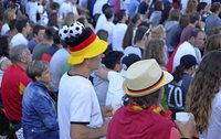 WM-Spiel beim Sommerfest