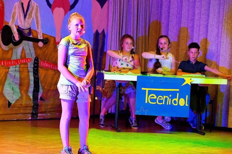 Casting für den Teenidol - Wettbewerb (Foto: Wolfgang Scheu)