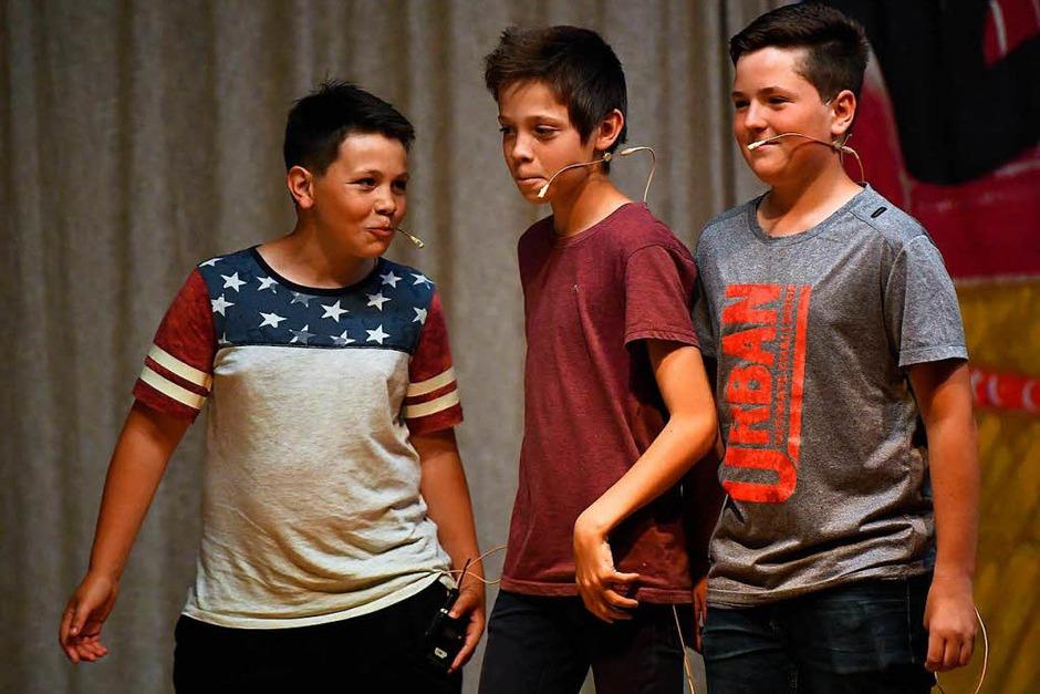 Casting für den Teenidol - Wettbewerb:  Zu rockig, die Jungs sind raus. (Foto: Wolfgang Scheu)