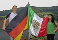 Deutsch-mexikanisches Paar fiebert bei WM mit