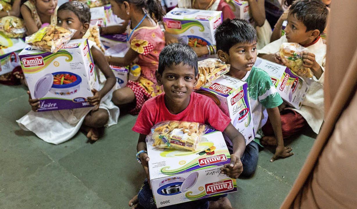 Mit Medizin und Lebensmitteln will der Gundelfinger Verein in Indien helfen.   | Foto: Indienhilfe – Wasser ist Leben