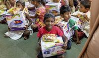 Die Not in Indien etwas mildern