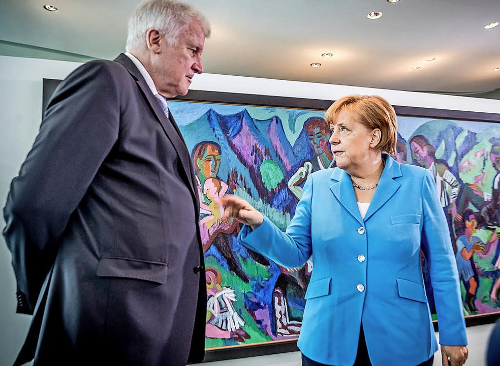 Stuttgart: Kretschmann stützt im Asylstreit Kanzlerin Merkel gegen CSU