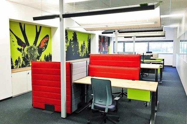 Moderne Workspaces im Neubau - die H2O GmbH aus Steinen