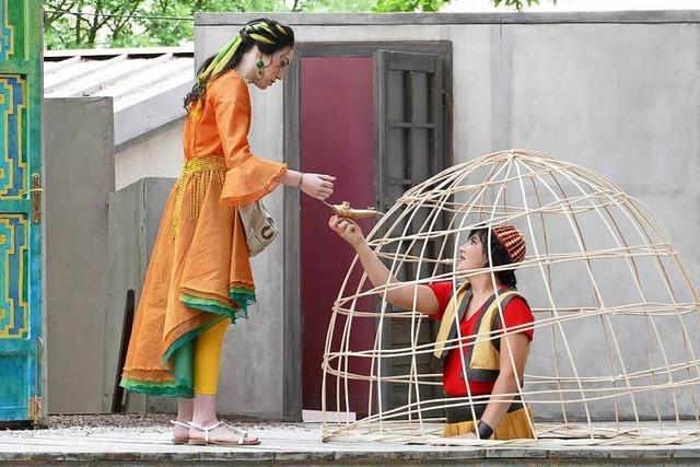 Festspielpremiere von Aladin und die Wunderlampe in Breisach