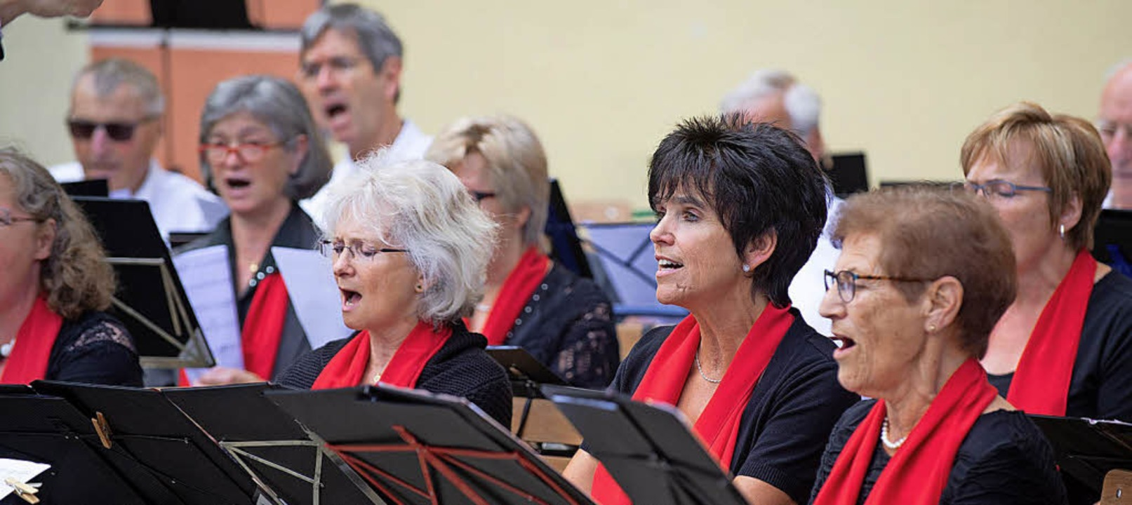 St. Märgen singt und klingt.  | Foto: Wolfgang Scheu