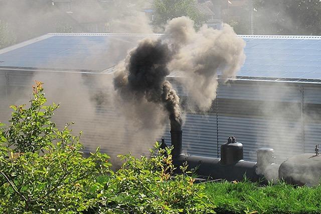 Anwohner in Kandern beklagen sich über den Rauch des Chanderli