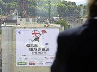 """Die """"Freiburg Clean Up Week"""" soll das Bewusstsein für den eigenen Umgang mit Müll stärken"""