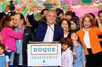Iván Duque hat die Präsidentschaftswahl in Kolumbien