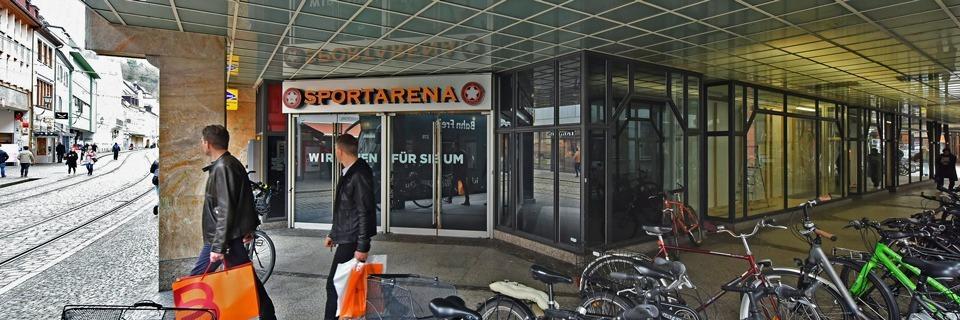 Was wird aus der leerstehenden Sportarena in der Salzstraße?