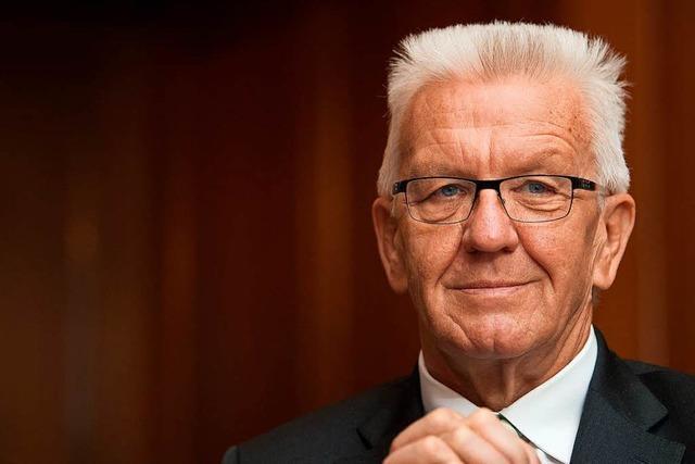 Kretschmann stützt im Asylstreit Kanzlerin Merkel