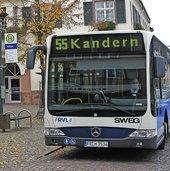 Nicht alle Busse der SWEG fahren