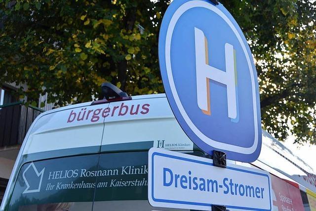 Bürgerbus Dreisam-Stromer kommt ab Juli täglich nach Buchenbach