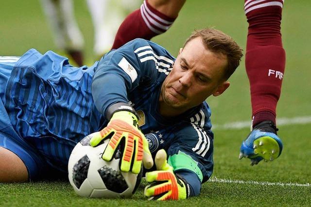 Erhöhter Redebedarf im deutschen Team vor dem zweiten Spiel