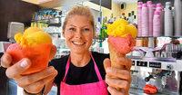 Freiburger Eisdiele will Kunden zum Hörnchen bewegen