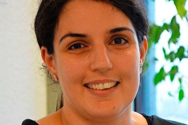 Schadia Tahar aus Lörrach weiß, wie wichtig Fußball für in Tunesien ist