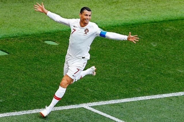 Portugal schlägt Marokko dank Ronaldo-Tor mit 1:0