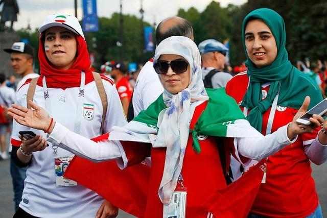 Iranerinnen feiern bei der WM und wollen Gleichberechtigung