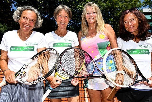 Altersklasse ab 65: Spielerinnen unter Top 3 Deutschlands