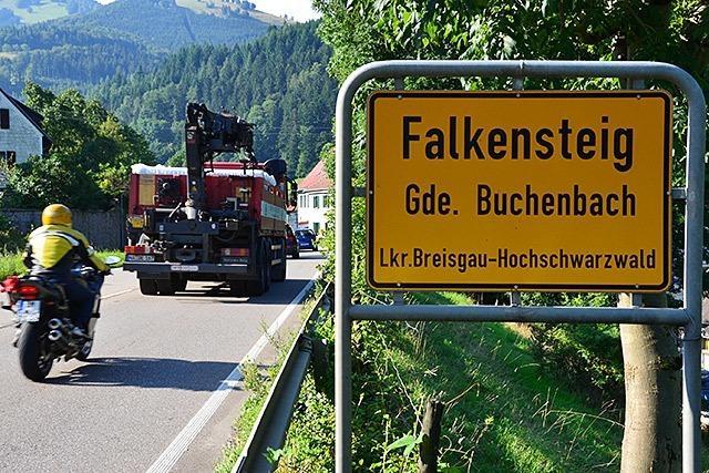 Falkensteigtunnel: Buchenbach will mehr Druck machen