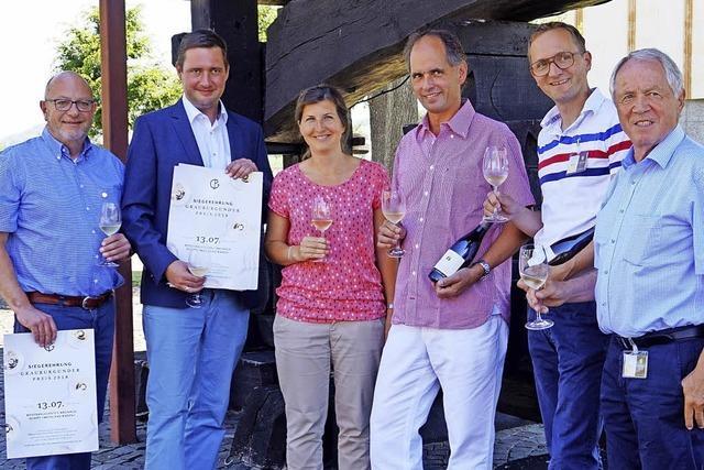 Grauburgunder-Preis mit neuem Look und neuer Location