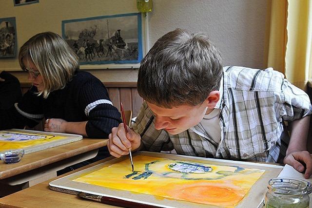 Im Haus Tobias lernen autistische Kinder - mit Waldorfpädagogik