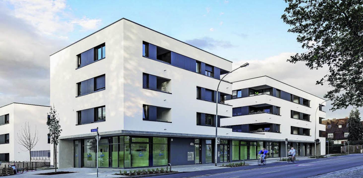 Dank der Wohnungsbaugenossenschaften i...gau im Freiburger Stadtteil Mooswald.   | Foto: Bauverein Breisgau