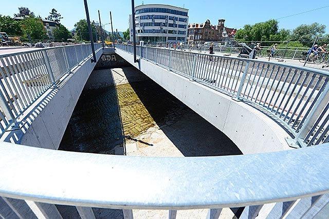 Der Neubau der Kronenbrücke tritt in die finale Phase