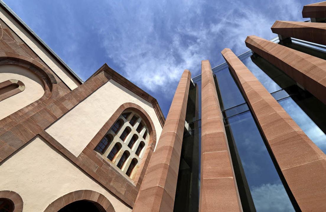 Alt und Neu treffen aufeinander, der Architekt ist Rudy Ricciotti  | Foto: Ville de Sélestat