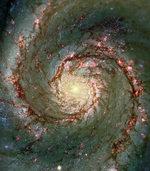 Einstein hinter der Milchstraße