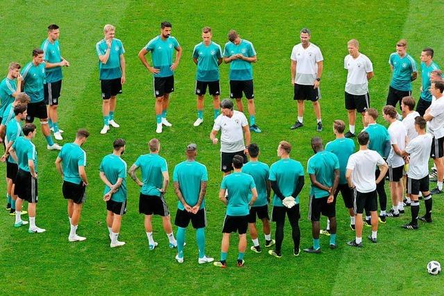 Vor dem entscheidenden Spiel gegen Schweden gibt sich Bundestrainer Löw entschlossen