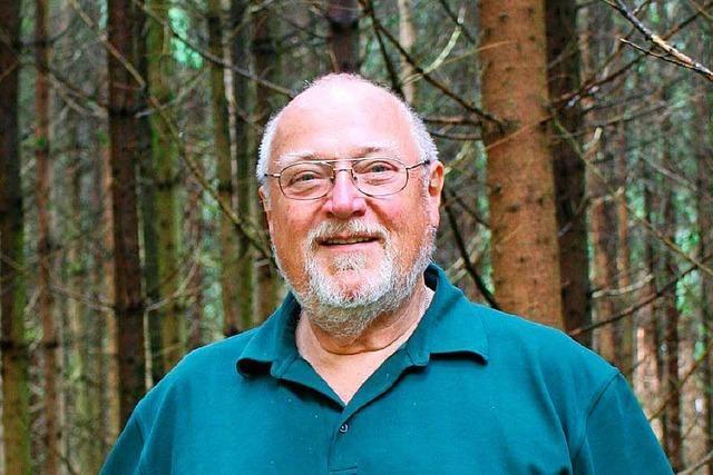 Schon als Kind war Schopfheims Förster Helmut Bäckert vom Wald fasziniert