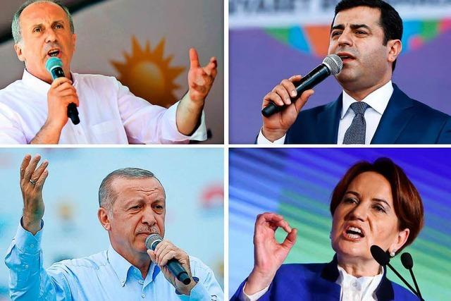 Liveticker: Die Türkei wählt Parlament und Präsident