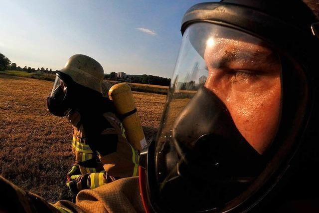Schwitzen für Lilly: Feuerwehrleute rennen für einen guten Zweck