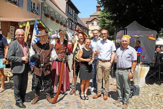 Kunst-Markt-Genuss-Tage in Burkheim waren sehr gut besucht