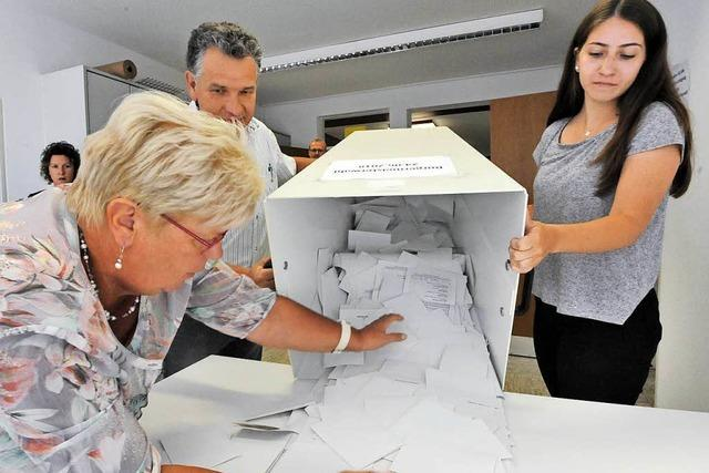 Fotos: Bürgermeisterwahl in Bahlingen