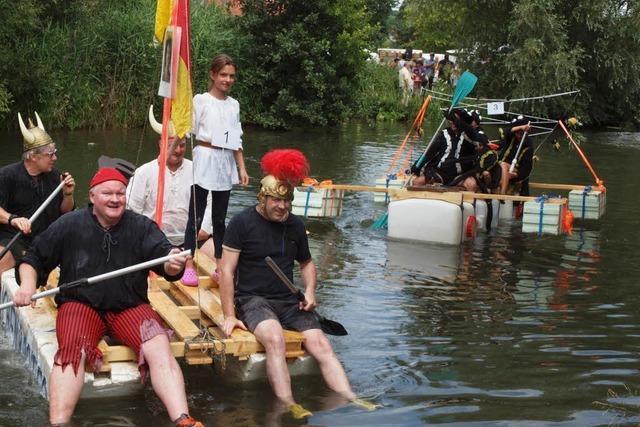 Fotos: Naturpark-Markt und Elzregatta 2018 in Kenzingen