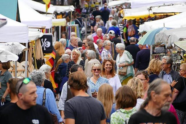 Fotos: Der 251. Johannimarkt in Grenzach