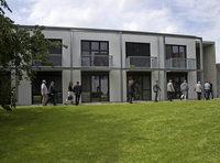 Gebäude für moderne Therapiearbeit