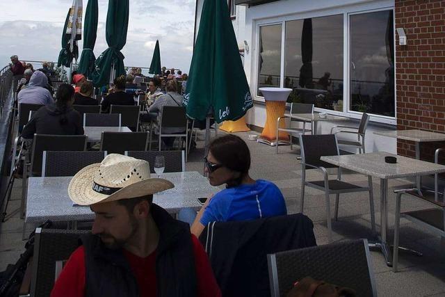 Das Berghaus Hochblauen im Markgräflerland wurde neu eröffnet