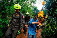 In Höhle eingeschlossen: Verzweifelte Suche nach Jungen in Thailand