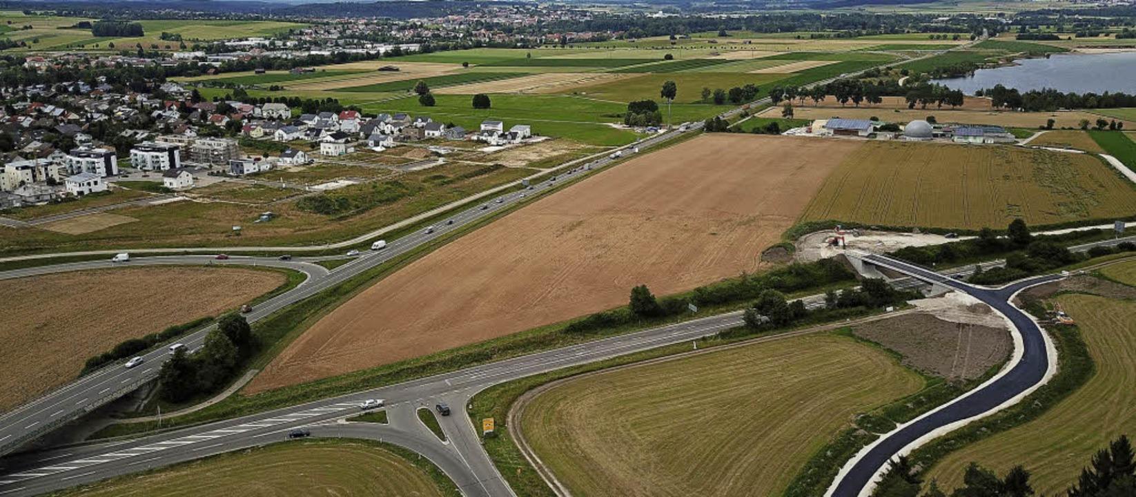 Die Bundesstraße 27 ist noch nicht ein...etroffen, wenn der Ausbau fertig ist.     Foto: Oliver Hoffmann